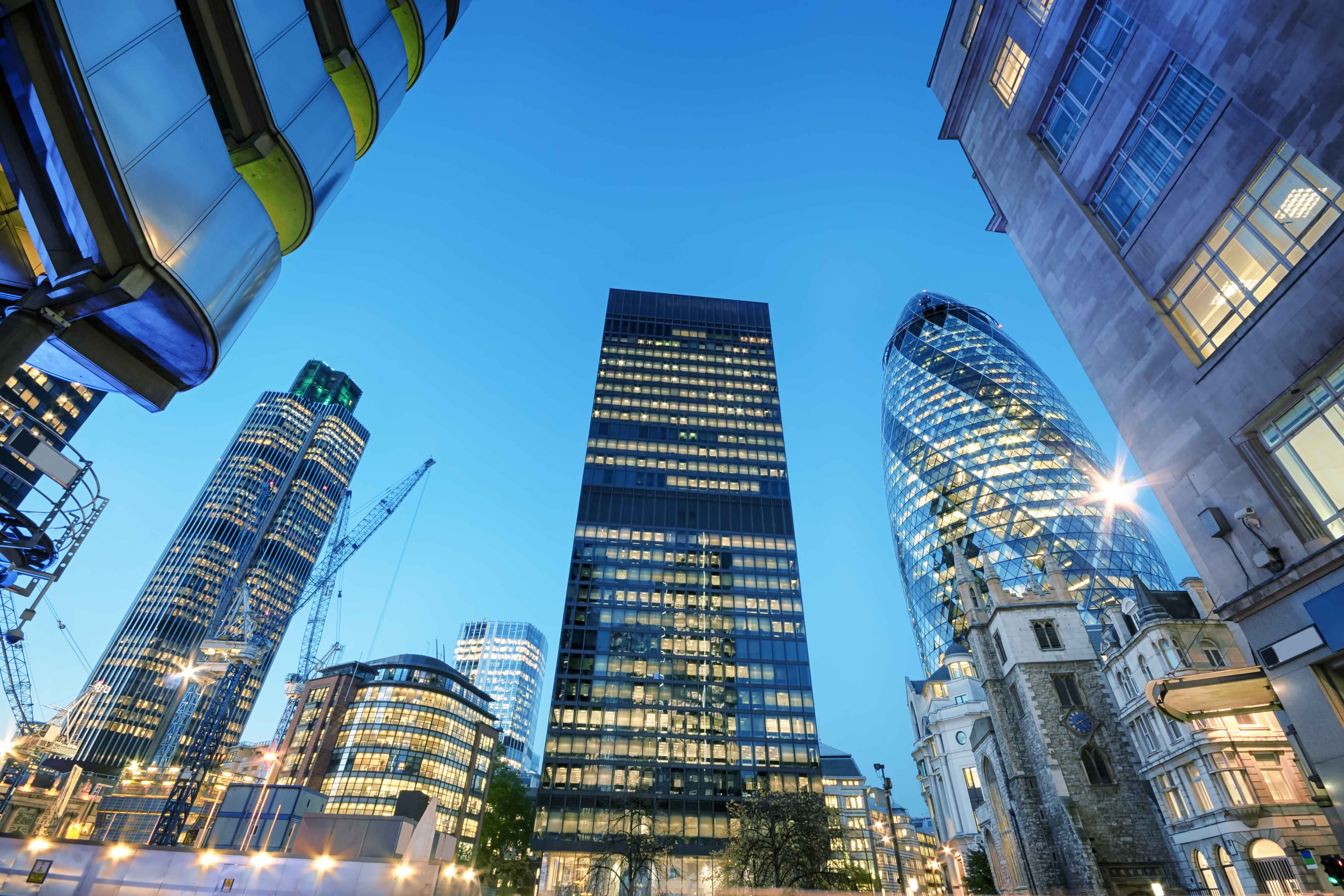 Picture of London's Financial District - Financial Services